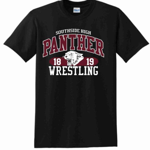 Southside Wrestling Tshirt Black