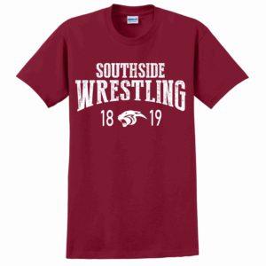 Southside Wrestling Tshirt Cardinal