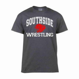 Southside Wrestling Tshirt Gray